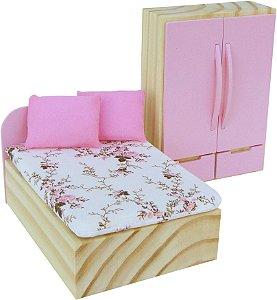 Coleçao Casinha kit quarto rosa