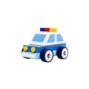 Carrinho de Madeira  - Polícia
