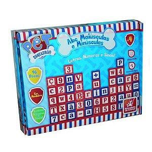 ABC 96 Peças de madeira- Esquadrão Pet-Brincadeira de criança
