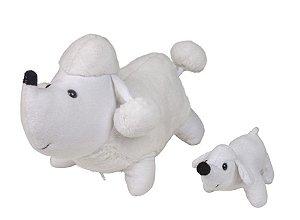Poodle – Pelúcia – Poodle Grávida de 1 Filhote - CAS