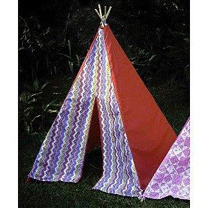 Tenda Colorida Vermelha
