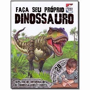 Livro - Faça E Brinque : Dinossauro - 3D