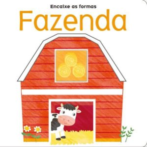 Livro Fazenda - Encaixe As Formas