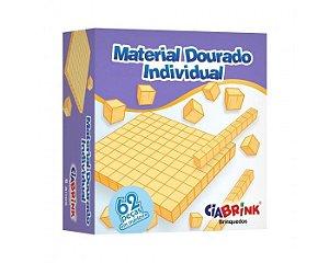 Material Dourado 62 pçs - madeira - ciabrink