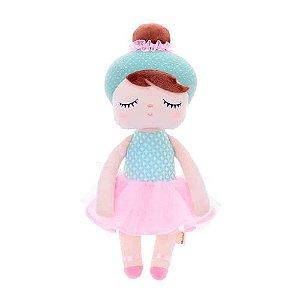 Boneca Mini  Metoo Doll - Angela Lai Ballet Verde
