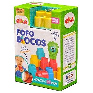 FOFO BLOCOS 15 PEÇAS-Elka
