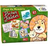 Jogo da Memória - Bichos e Filhotes