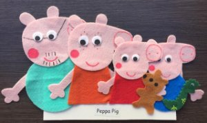 Dedoches - Peppa Pig