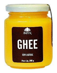 Manteiga Ghee sem sal Benni 200g