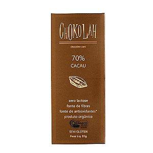 Chokolah 70% Cacau Tablete 80g