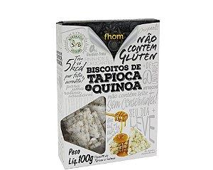Biscoito Fhom de tapioca e quinoa