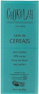 Chokolah Leite de Careais Tablete 80g