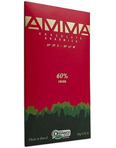Amma Chocolate Orgânico 60% Cacau 80g