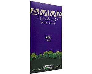 Amma Chocolate Orgânico 85% Cacau 80g