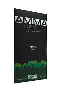 Amma Chocolate Orgânico 100% Cacau 80g