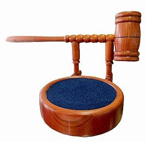 Malhete Suspenso em madeira Luxo