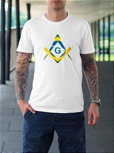Camiseta Maçonaria Brasil