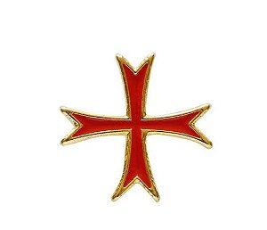 Pin Cruz Templária