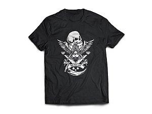 Camiseta Skull Freemason