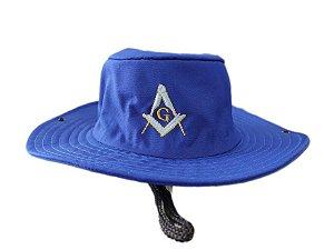 Chapéu Camping Esquadro e Compasso