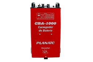 Carregador de Bateria Automotiva c/ Auxiliar de Partida CBA-1000 Planatc