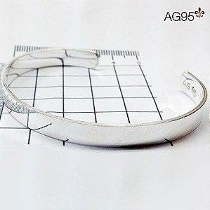 Bracelete Reto Liso 7 mm