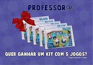 KIT GRATUITO PARA PROFESSORES (Paga somente o frete)