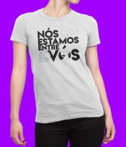 Camiseta Babylook Entre Vós - Modelo 2