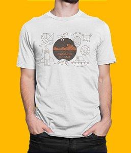 Camiseta Unissex Espaço Caminho da Luz - Ufologia