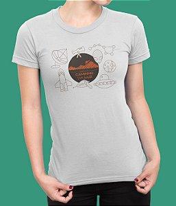 Camiseta Babylook Espaço Caminho da Luz - Ufologia