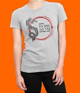 Camiseta Babylook Wu San Dji Tao - Grande Círculo