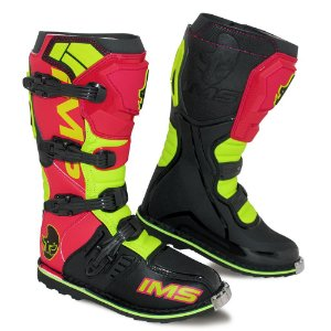 Bota IMS Light vermelha / neon