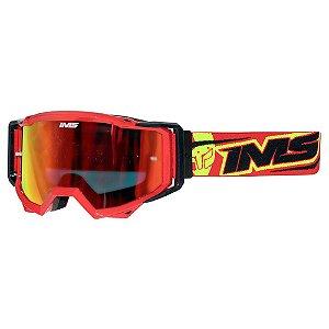 Óculos IMS Vision vermelho - moto ou bike