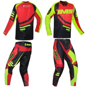 Kit Calça + Camisa: Conjunto IMS Sprint vermelho