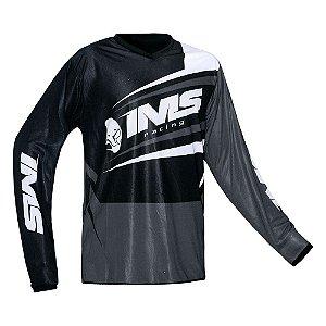 Camisa trilha moto e bike IMS Flex cinza