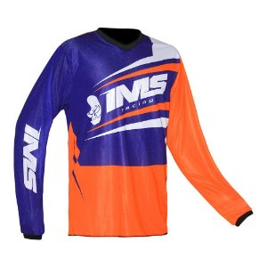 Camisa trilha moto e bike IMS Flex laranja