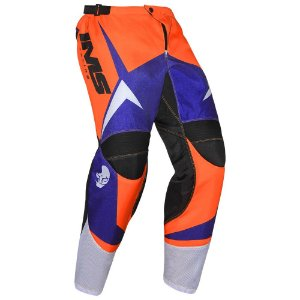 Calça de trilha motocross IMS Flex laranja