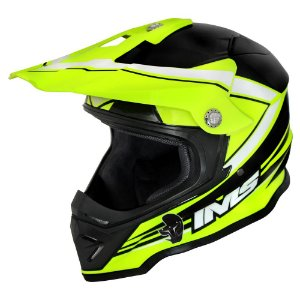 Capacete off road IMS Light neon