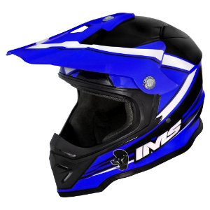 Capacete off road IMS Light azul