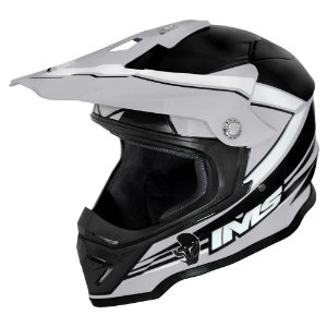 Capacete off road IMS Light cinza