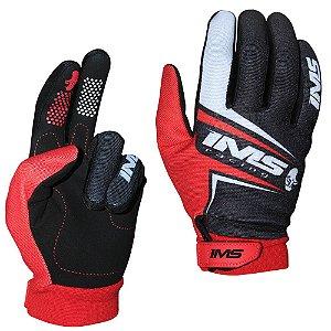 Luvas para moto ou bike IMS Flex vermelha
