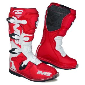 Bota Trilha / Enduro / Motocross Ims Light Vermelha / Branca