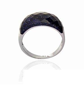 anel sendstone prata 925 -aro 22