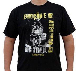 Camiseta Motociclista - Emoção e aventura
