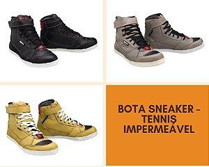Bota Texx Sneaker – Tênis Motociclista Impermeável