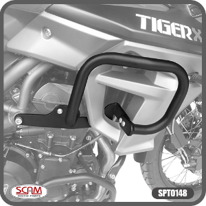 Protetor Carenagem Triumph Tiger800 2015+ Scam Spto148