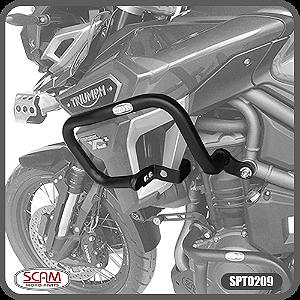 Protetor Carenagem Triumph Tiger1200 Explorer 2016+ Scam Spto209