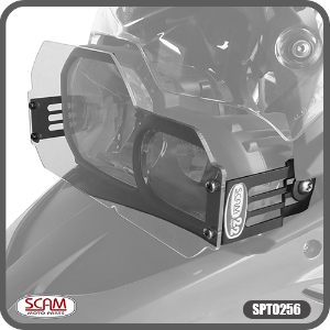 Protetor de Farol Policarbonato BMW F700gs 2017+ Scam Spto256