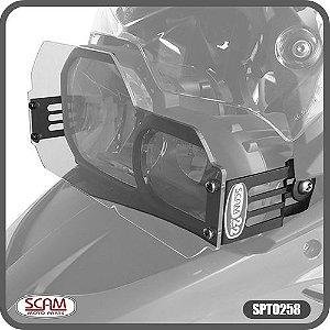 Protetor de Farol Policarbonato BMW F800r 2010-2015 Scam Spto258