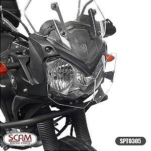 Protetor de Farol Policarbonato Yamaha Tenere250 2011+ Scam Spto305